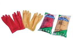 Diamond Mini Unlined Chlorinated Rubber Hand Glove