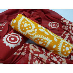 Printed Fancy Cotton Dress Material