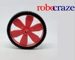 Robocraze Red BO Motor Wheel