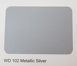 Wd-102 Metallic Silver ACP Sheets
