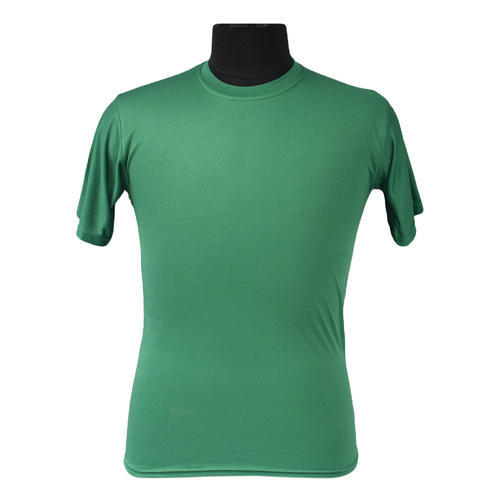 ede4f9ce Micro Polyester Round Neck Green Sports T-Shirt, Rs 65 /piece | ID ...