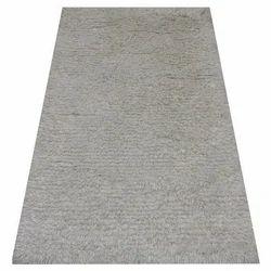Grey Plain Shaggy Carpet
