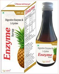 Digestive Enzyme and L-Lysine Syrup