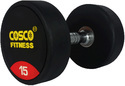 Round Dumbbell Rubber 15 kgs 28405