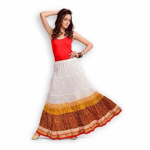 77c67663198b Zola Yellow Ladies Skirts, Rs 1095 /piece, Pragati Fashions Private ...