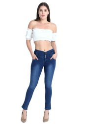 Stretchable Denim Ladies Skinny Jeans