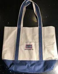 Vamasa Loop Handle Dyed Gusset Canvas Tote Bag