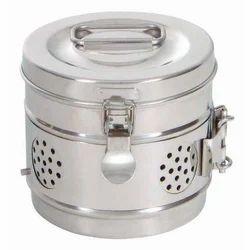 Stainless Steel Dressing Drum