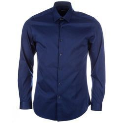Cotton Mens Blue Shirt, Size: 42