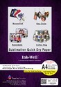 Sublimation Transfer Papers Quick Dry