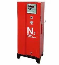 Digital Nitrogen Tyre Inflator for Two Wheeler