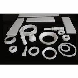 White PTFE Machine Components