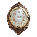 Golden Living Room Wall Clock, Size: 8x10 Inches