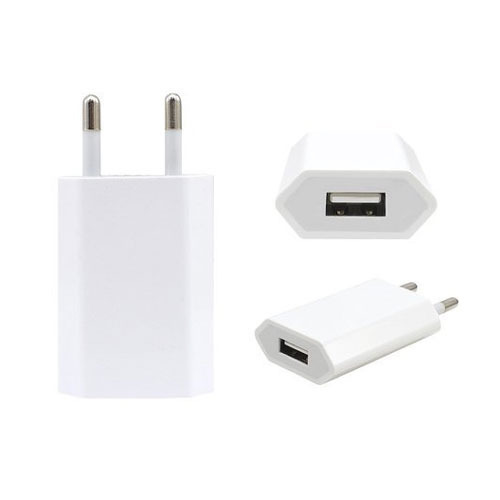 1 Meter White Apple Mobile Charger, For Charging