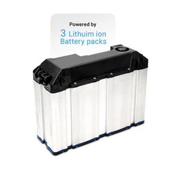 Lithium Ion Battery For TVs Iqube Scooter