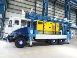 Multi Purpose Drilling Rig Truck Model Only Rig Mounting
