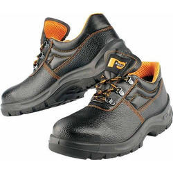 Panda Synthetic Leather Safety Shoes