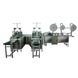 Automatic Anti Pollution Ear Loop Face Mask Making Machine