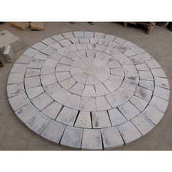 Concrete Circular Pattern Pavers Block