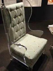 Acrylic Chair, Seating Capacity: 1