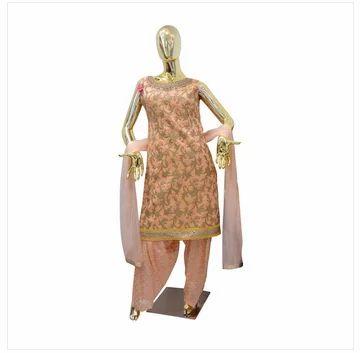 b17c092b1e Ladies Suits - Ladies Salwar Suits Gold Zari Patiala Ecommerce Shop ...