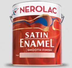 Nerolac Satin Enamel Paint, Packaging Type: Bucket