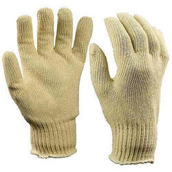 Canvas Construction Safety Gloves