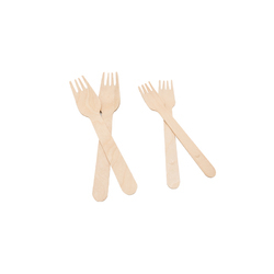 Bio Degradable Wooden Fork