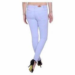 Denim Plain Ladies Jeans