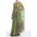 Ladies Green Kota Silk Saree