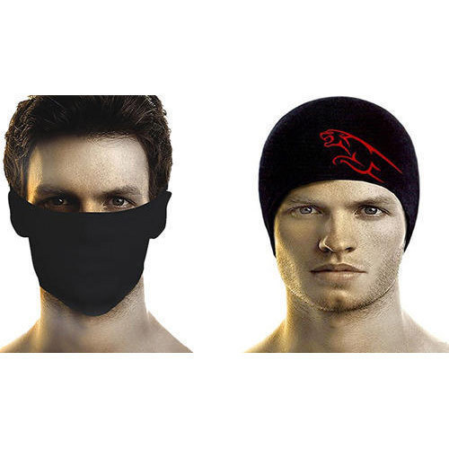 Black Alexa Anti Pollution Mask Skull Cap c215a003231