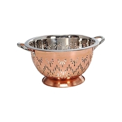Sunflower Colander With Copper, For Home