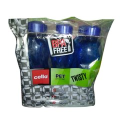 Blue Cello PET Water Bottle, Capacity: 1 Litre