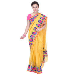 Kota Saree With Aari Work