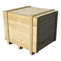Beige Wooden Packing Cases