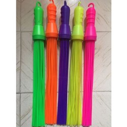 56 Stick Plastic Broom
