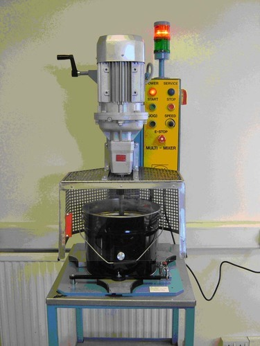 chemical mixing machine with speed control with drive