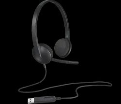 Wired Logitech H340 USB Computer Headset