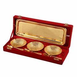 7 Pc Golden Bowl Set