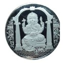 Silver Round Ms Ganesh Coin Stamping Die