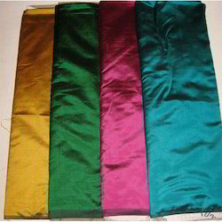 Pure Dupion Silk Dyed Fabric