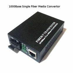1000Base Single Fiber Media Convertor