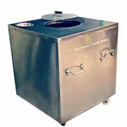 160 L Gas And Charcoal SS Tandoor