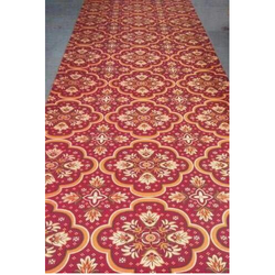 Rajdhani Red Printed Designer Carpet