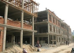 Concrete Frame Structures Residential Projects Hospital Building Construction Service
