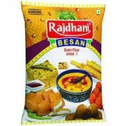 Colored Besan Packaging Pouch