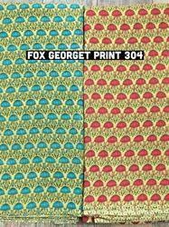 Georgette Garment Printed Fabric