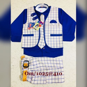 Blue White Baba Suit