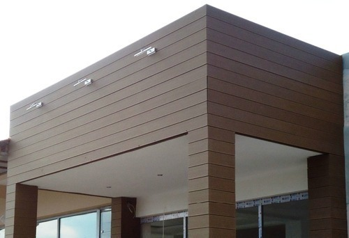 WPC Facade Cladding - Wall Cladding Manufacturer from Chennai