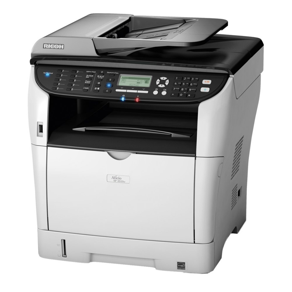 Ricoh SP 3510SF Black & White Laserjet Multi-Function Printer, Upto 2...